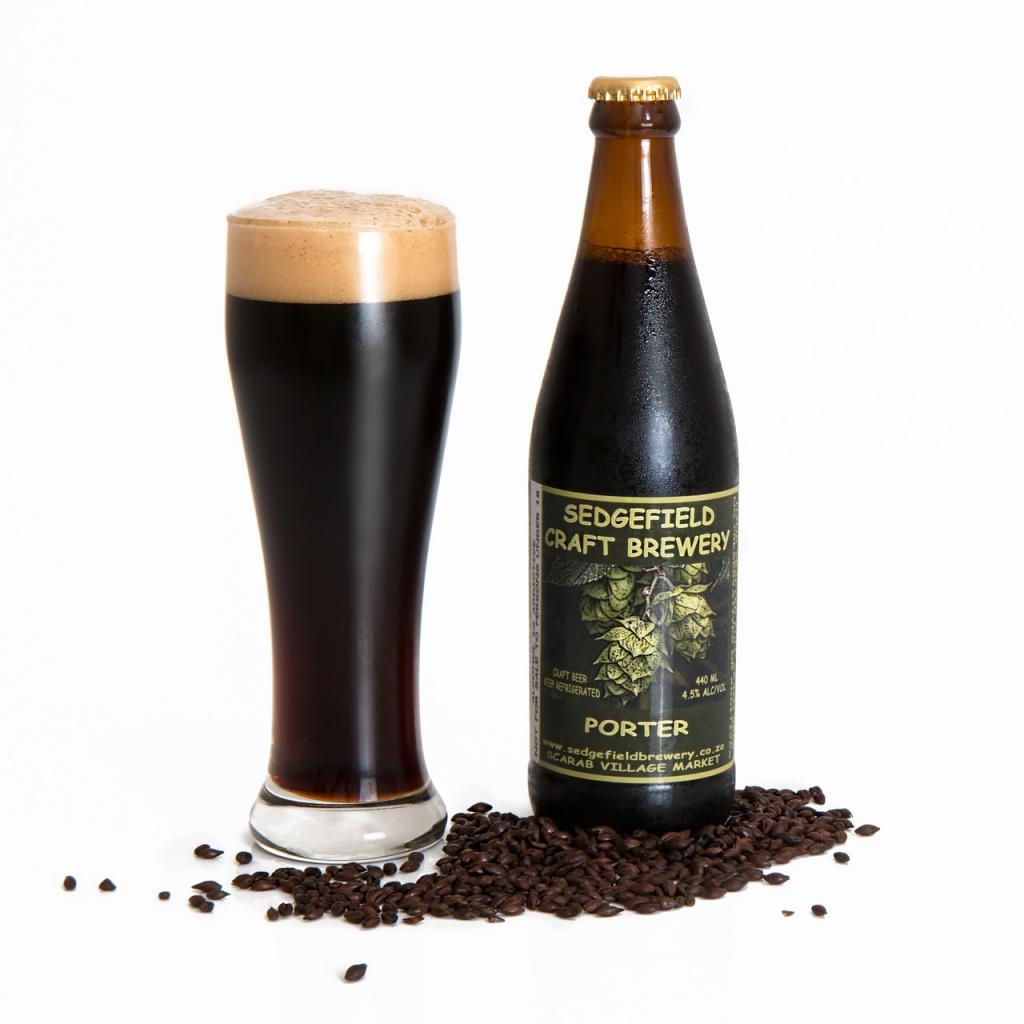Nalewka z piwa porter